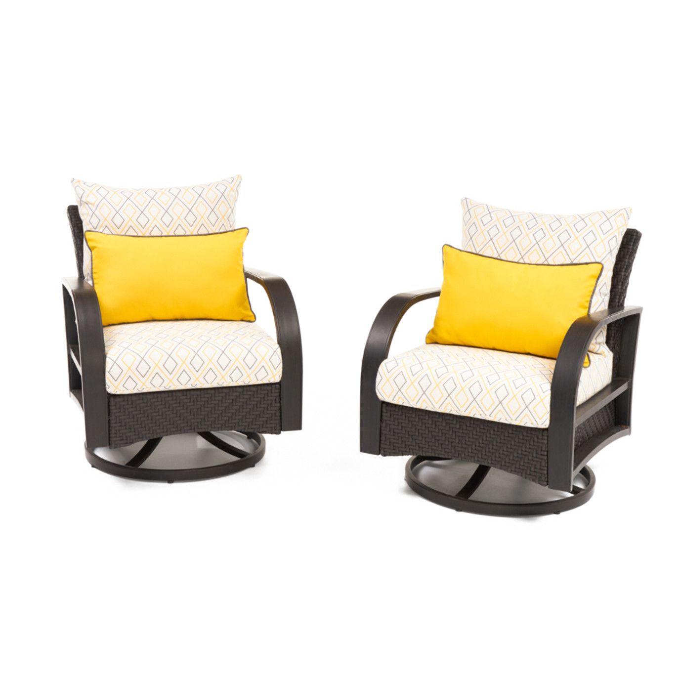 Barcelo™ Deluxe Motion Club Chairs - Sunflower Yellow