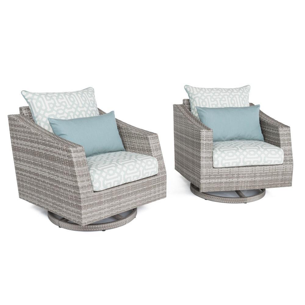 Cannes Motion Club Chairs - Spa Blue Design