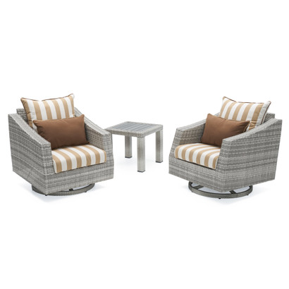Cannes™ Deluxe Motion Club Chairs & Side Table
