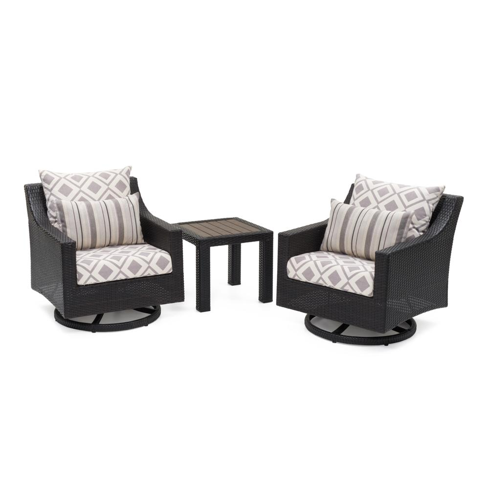 ... Deco™ Deluxe Motion Club Chairs U0026 Side Table   Wisteria Lavender ...