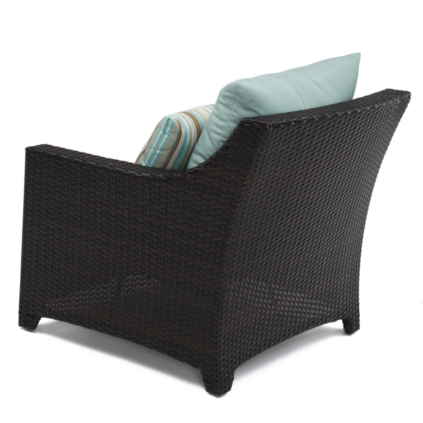 Deco™ Club Chairs and Side Table - Bliss Blue