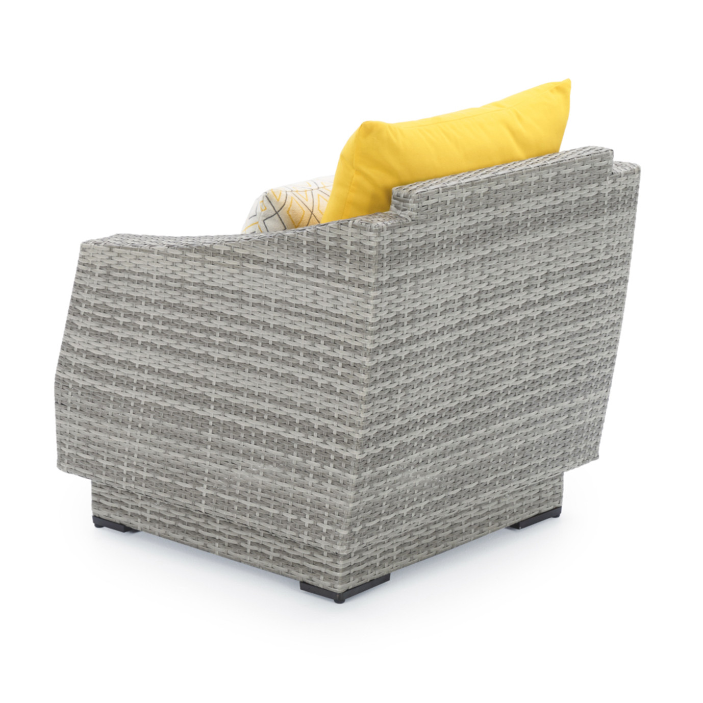 Cannes™ Club Chairs & Side Table - Sunflower Yellow