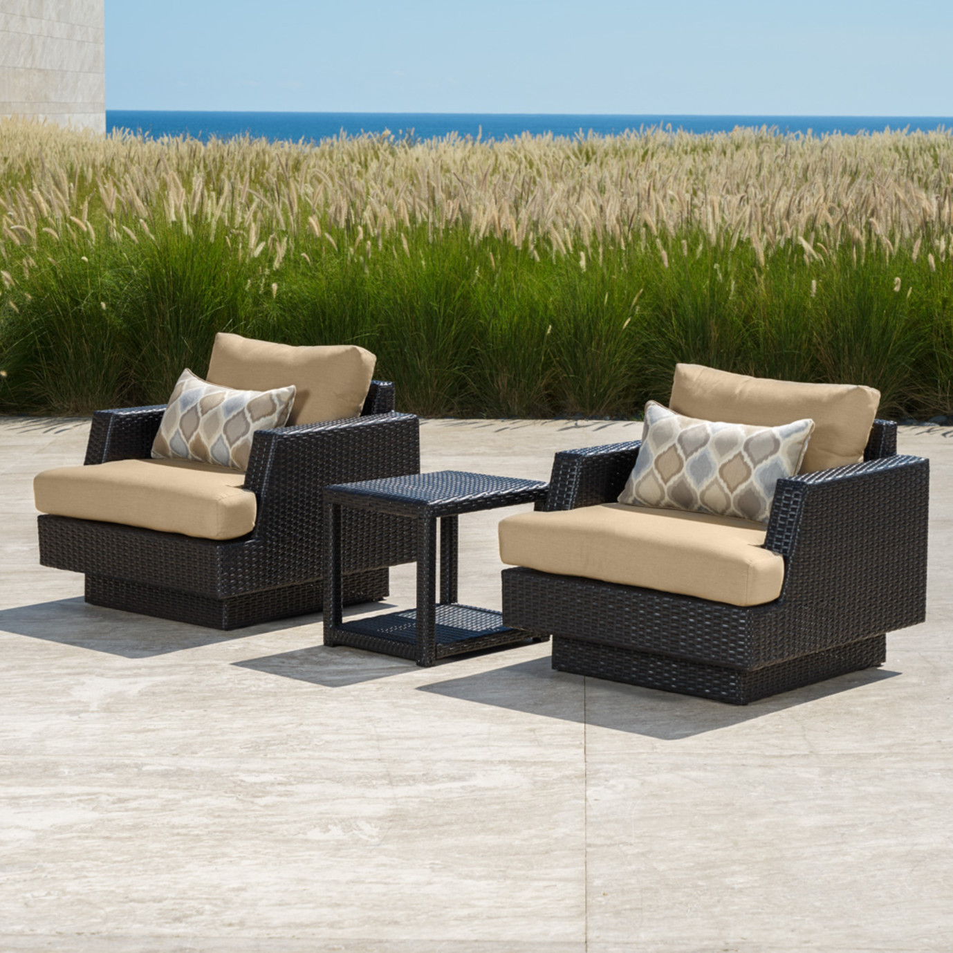 Portofino™ Comfort Club Chairs - Heather Beige