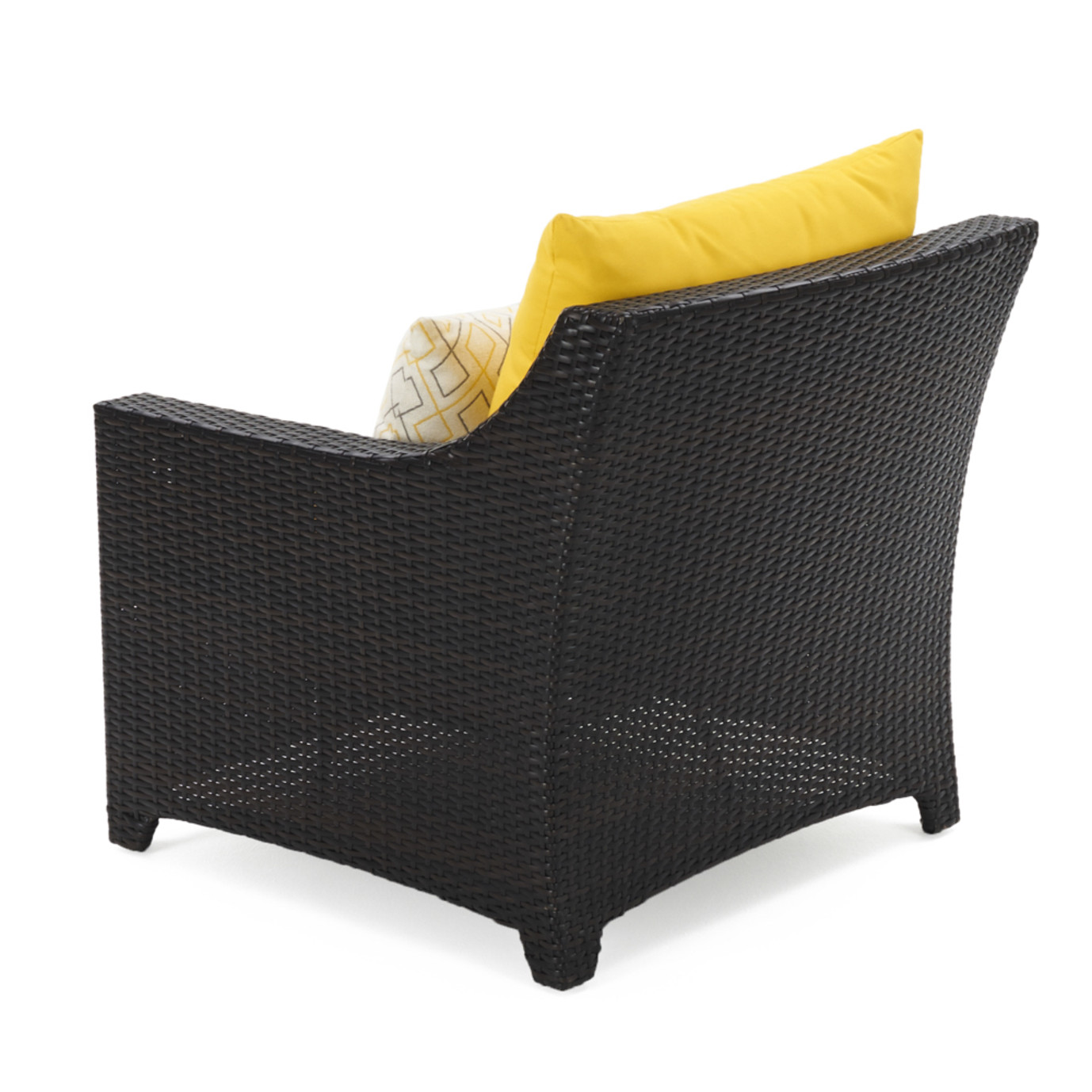 Deco™ Club Chairs and Side Table - Sunflower Yellow