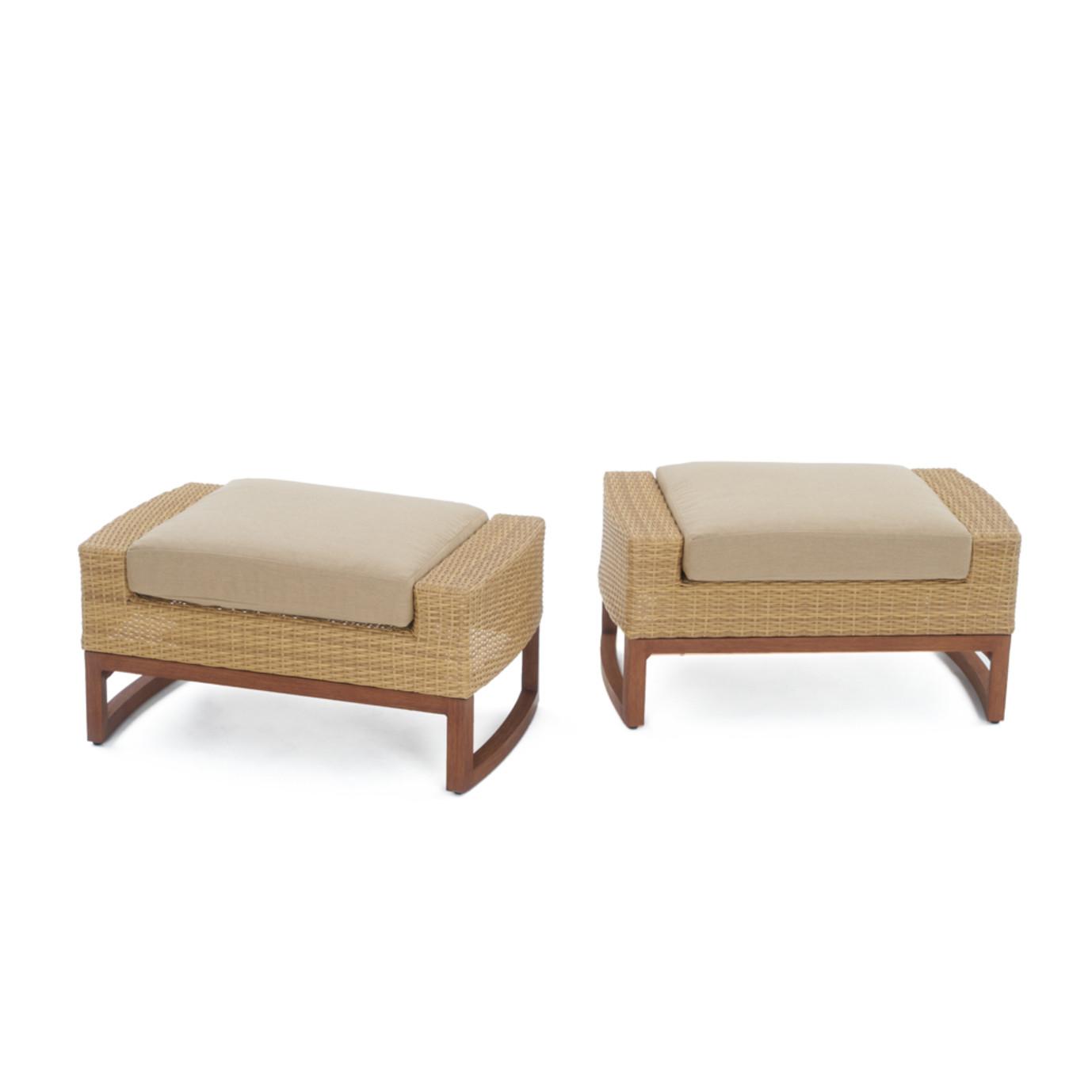 Milea™ 5pc Club Chair & Ottoman Set - Maxim Beige