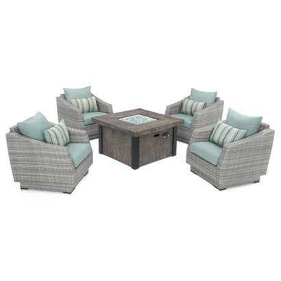 Cannes™ 5 Piece Fire Chat Set