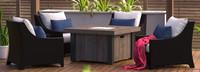 Deco™ 5 Piece Fire Chat Set - Cast Coral