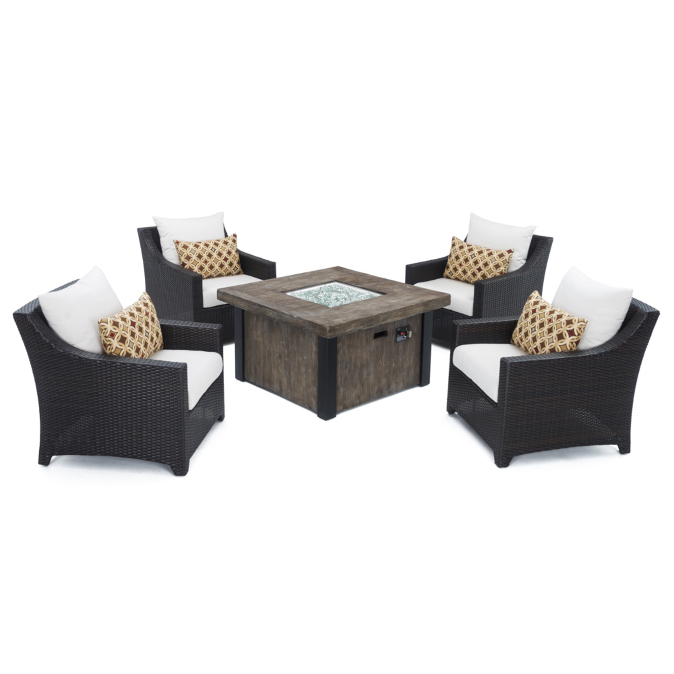 Deco™ 5 Piece Fire Chat Set- Moroccan Cream