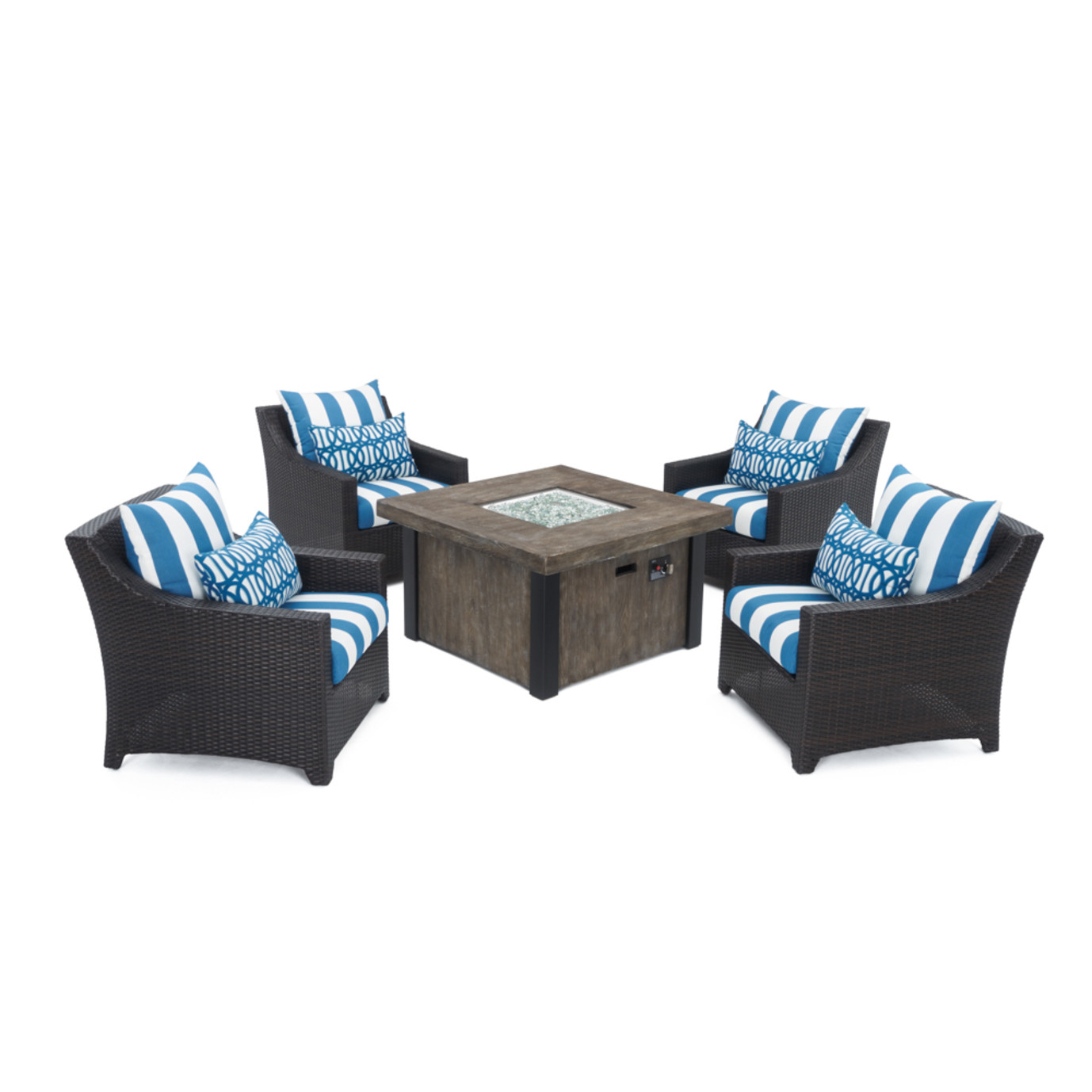 Deco™ 5pc Fire Chat Set - Regatta Blue