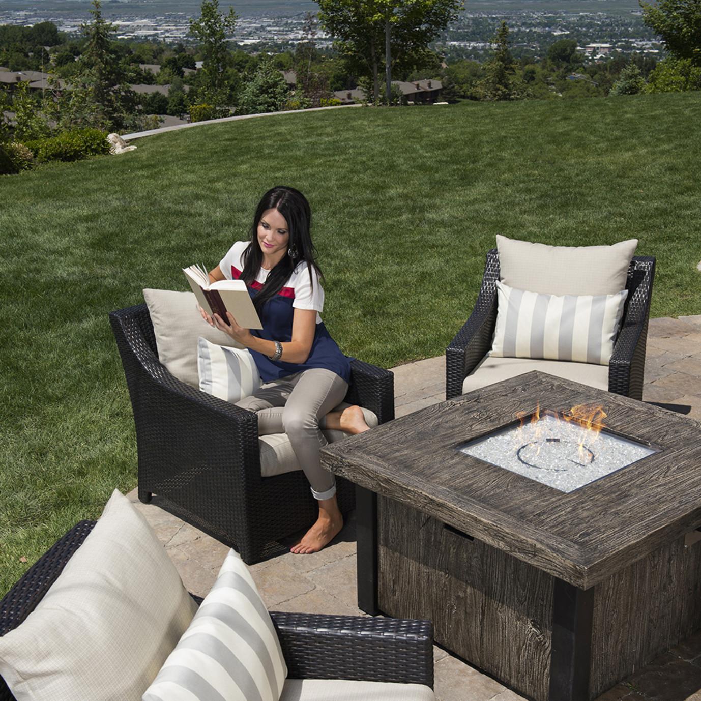Deco™ 5pc Fire Chat Set - Slate Grey