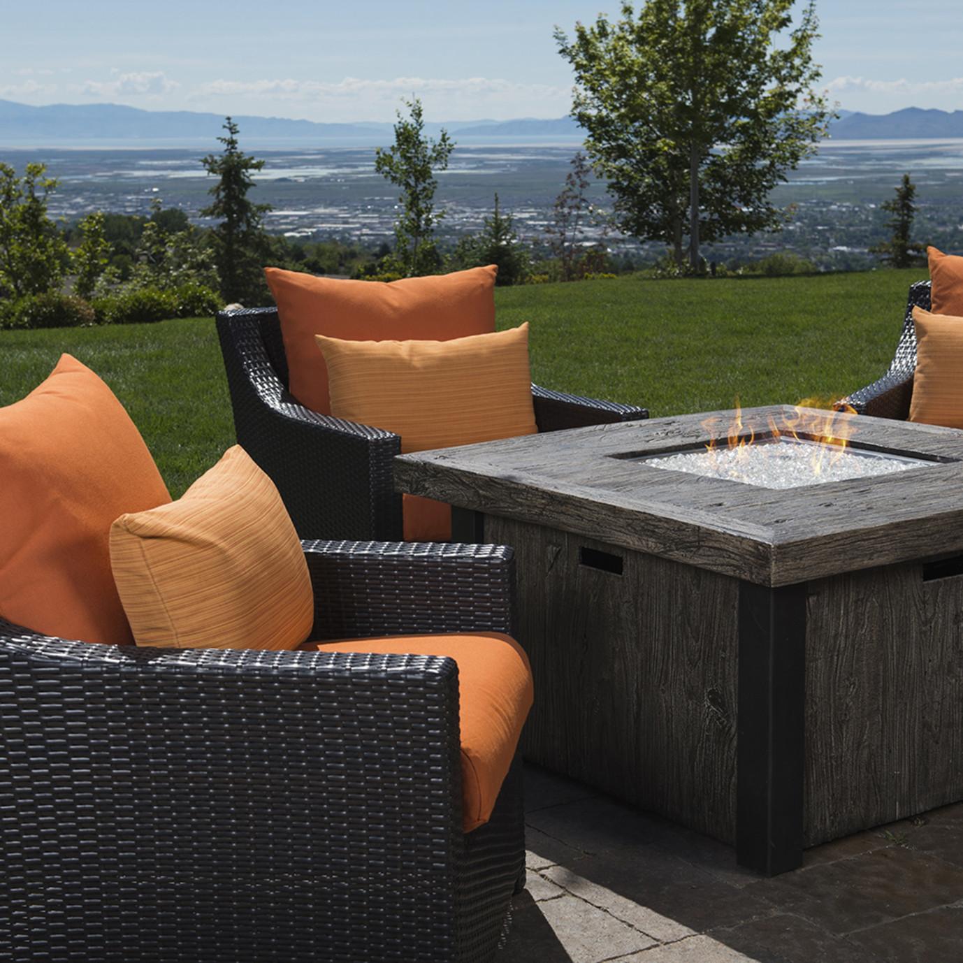 Deco™ 5pc Fire Chat Set - Tikka Orange