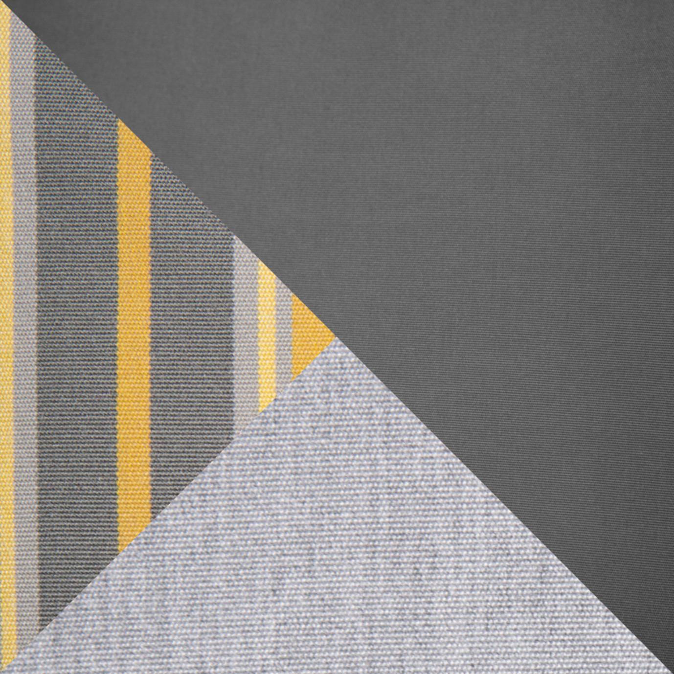 Barcelo™ 5pc Motion Club & Ottoman Set - Charcoal Gray