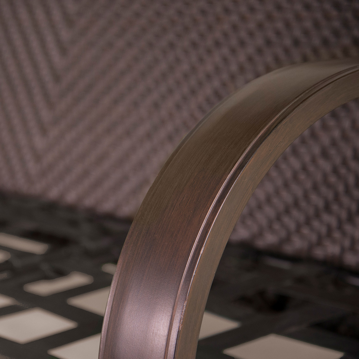 Barcelo™ 5 Piece Motion Club & Ottoman Set - Charcoal Gray