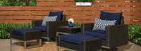 Milo™ Espresso 5 Piece Motion Club Set - Spa Blue
