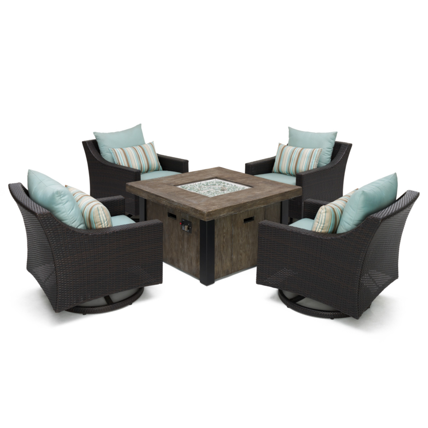 Deco™ 5pc Motion Fire Chat Set - Bliss Blue