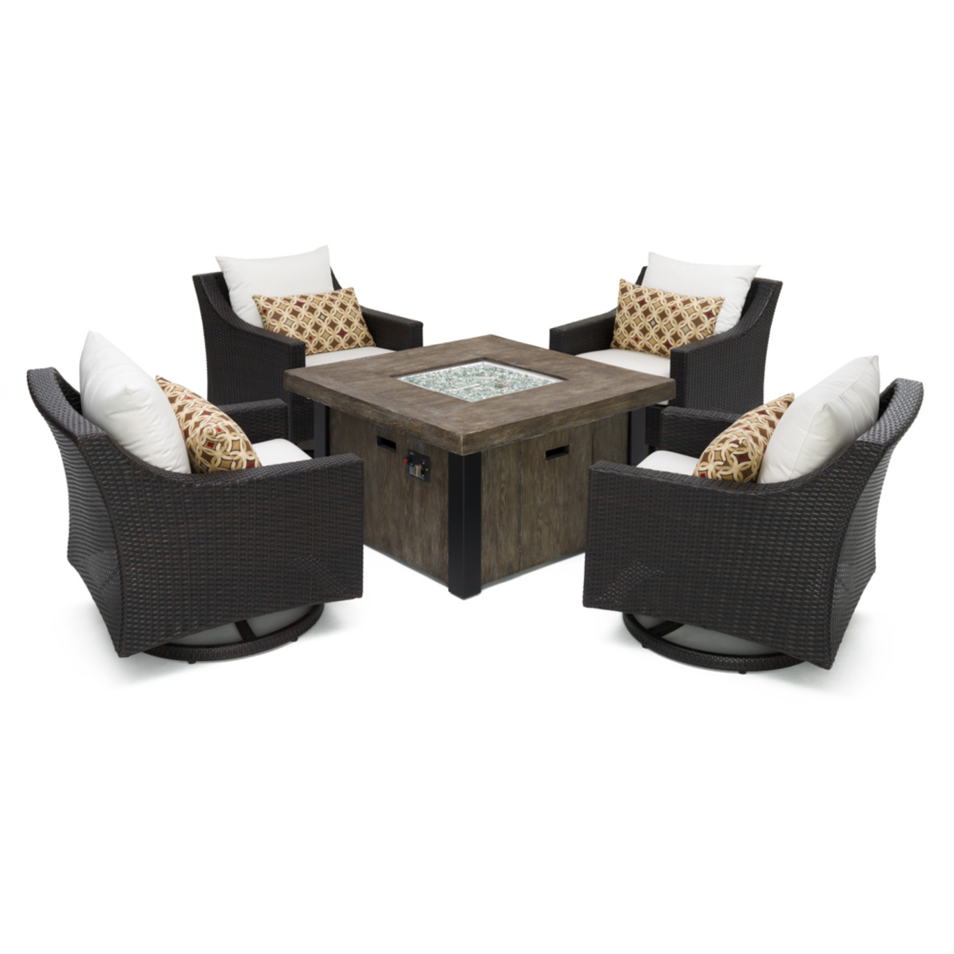 Deco™ 5pc Motion Fire Chat Set - Moroccan Cream