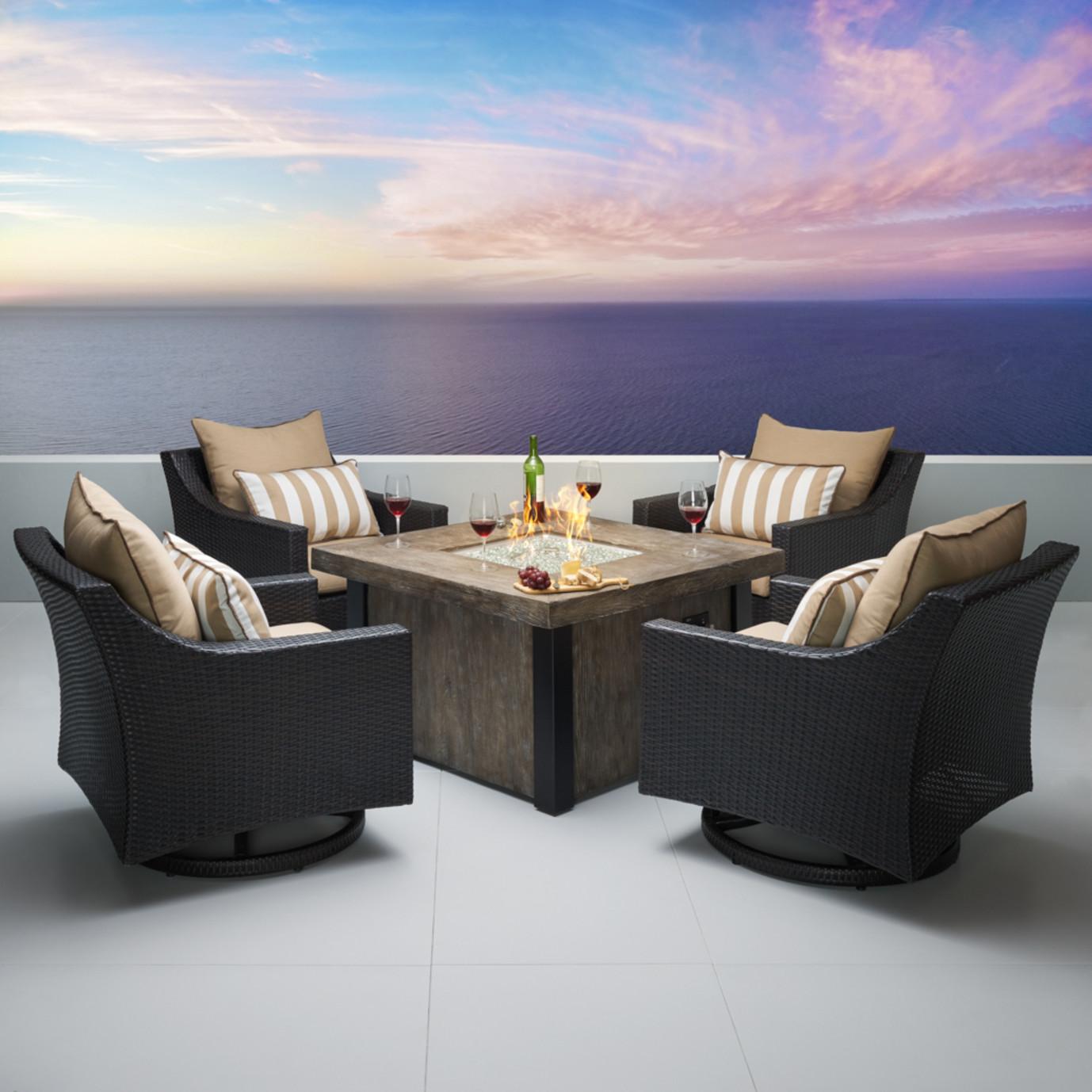 Deco™ 5pc Motion Fire Chat Set - Maxim Beige