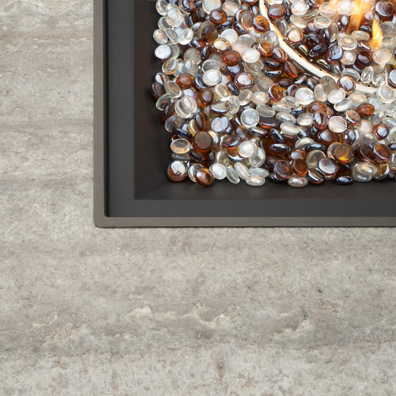 Portofino™ Comfort 5pc Fire Chat Set - Espresso Taupe