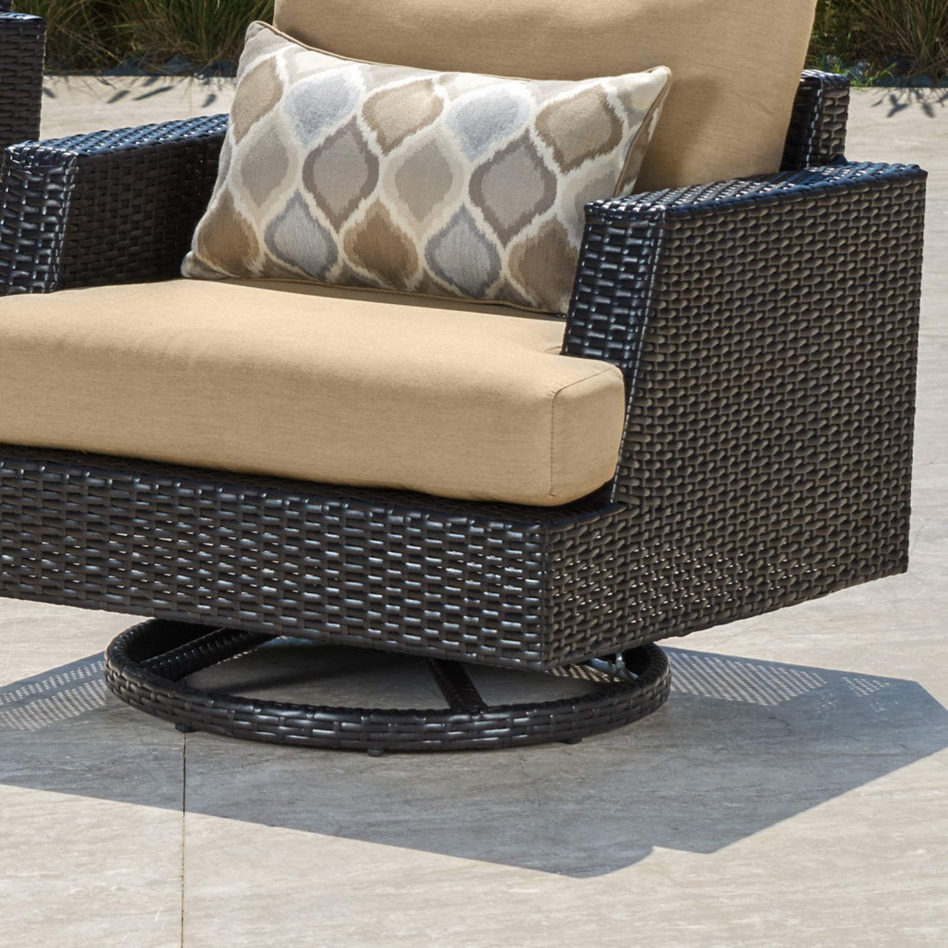 Portofino® Comfort 5pc Fire Chat Set - Heather Beige