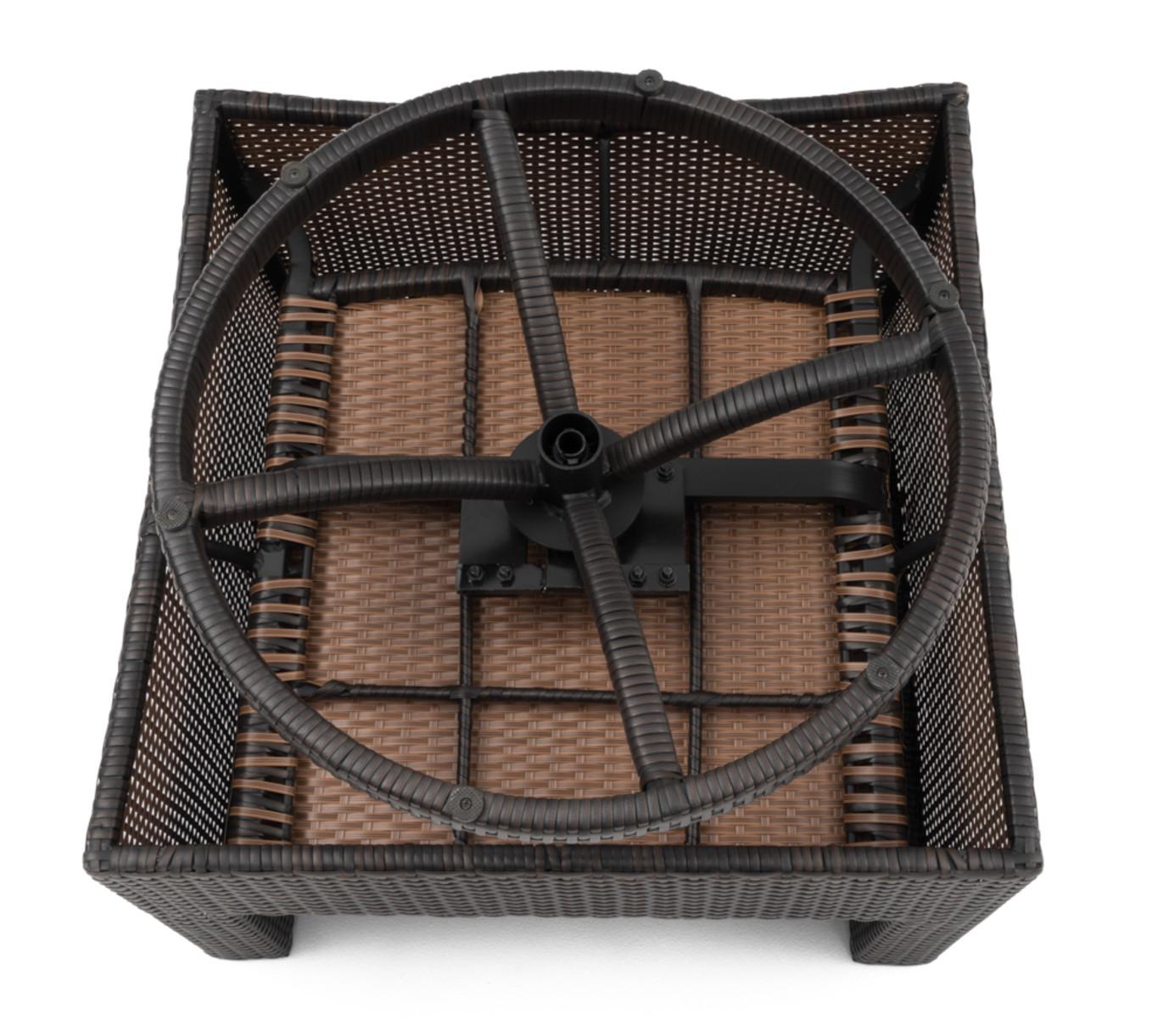 Deco™ Deluxe 5 Piece Motion Fire Chat Set - Wisteria Lavender