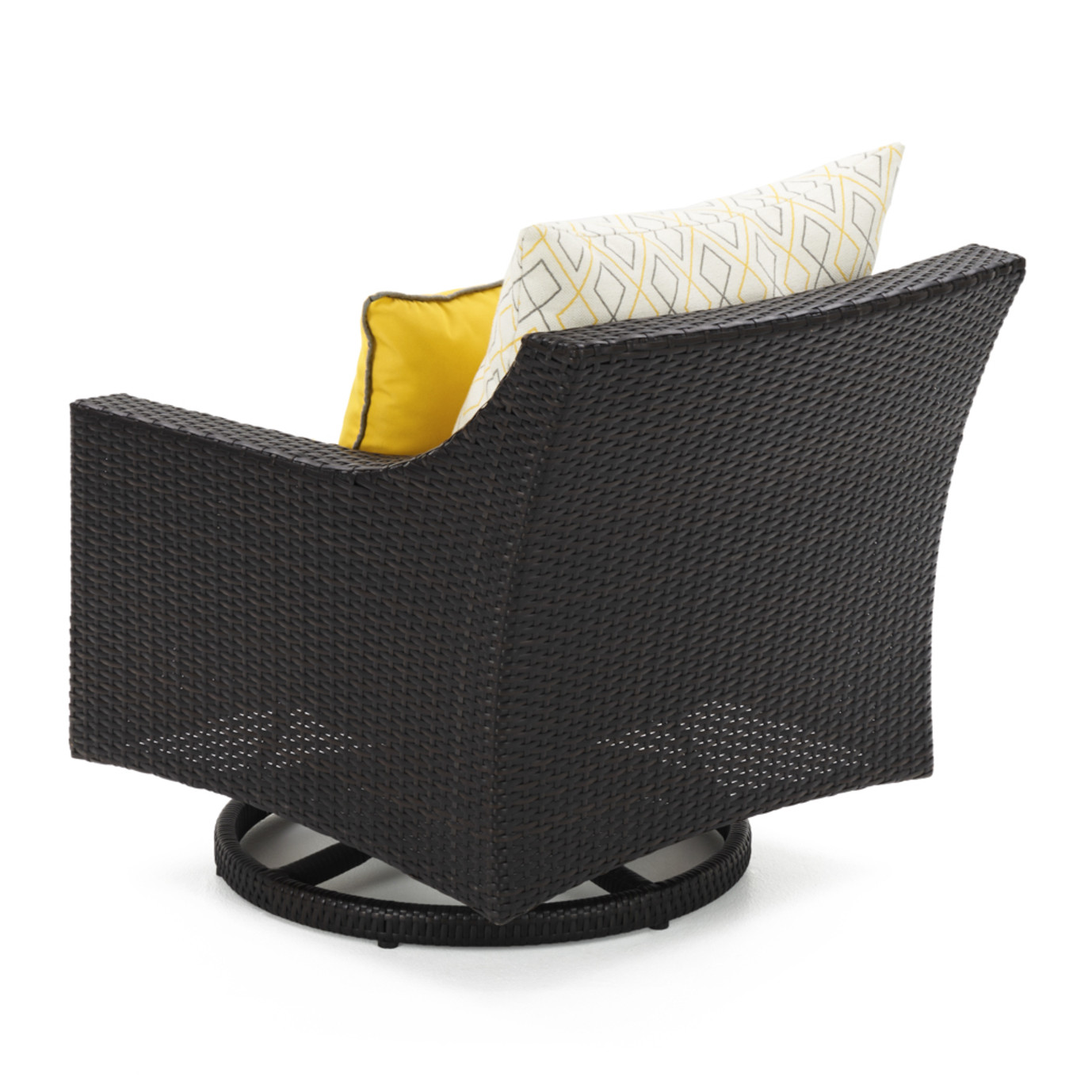 Deco™ Deluxe 5pc Motion Club & Ottoman Set - Sunflower Yellow