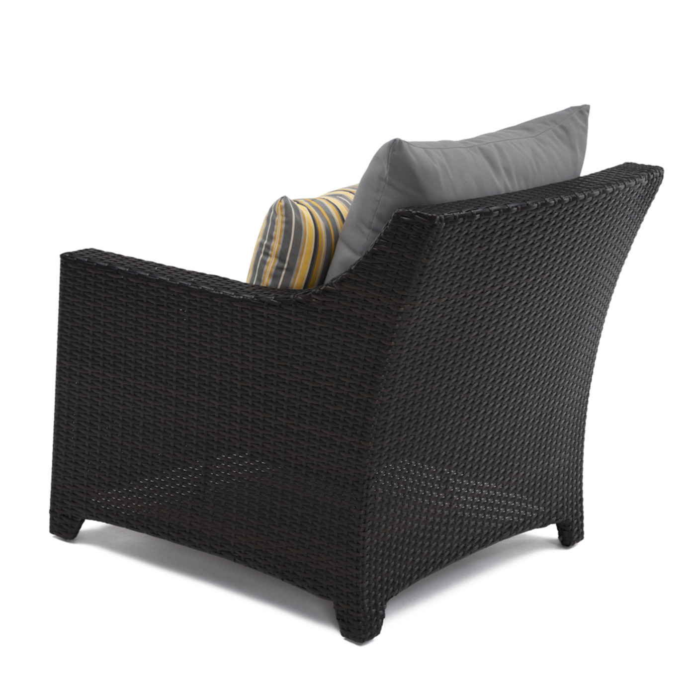 Deco™ 5pc Club & Table Chat Set - Charcoal Gray