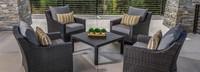 Deco™ 5 Piece Club & Table Chat Set - Maxim Beige
