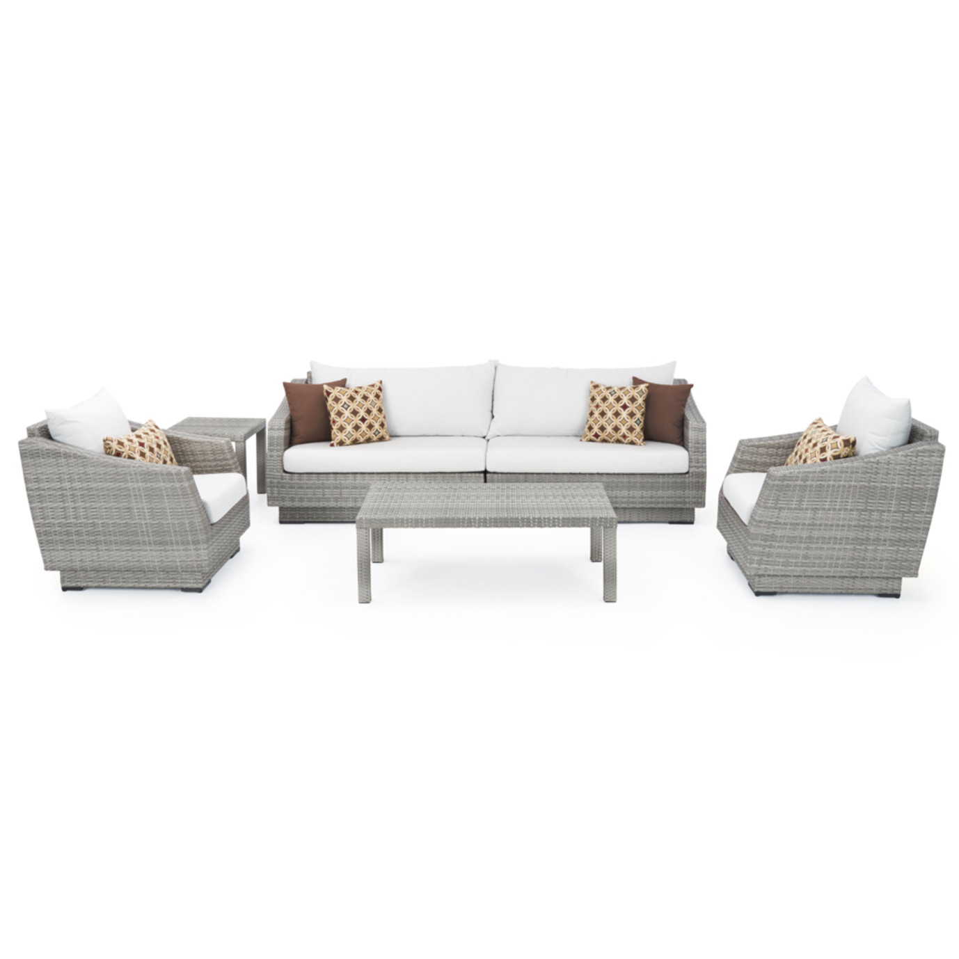 Cannes™ 6 Piece Sofa & Club Chair Set - Moroccan Cream