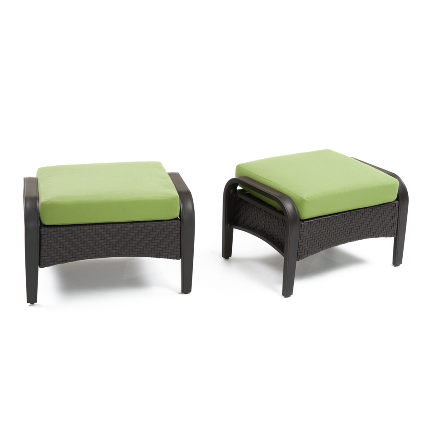 Barcelo™ Club Ottomans - Ginkgo Green