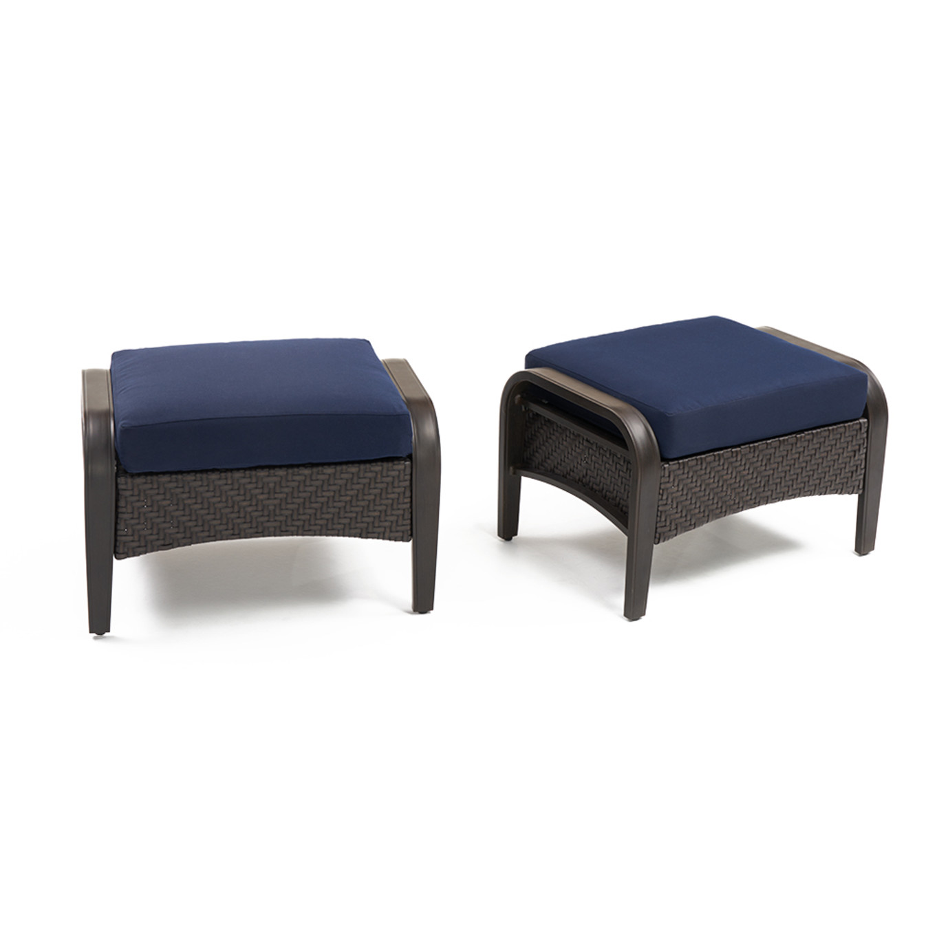 Barcelo™ Club Ottomans - Navy Blue