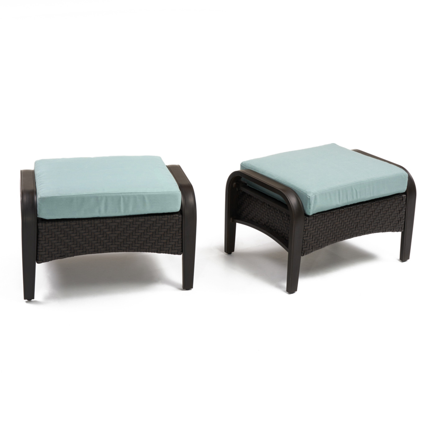 Barcelo™ Club Ottomans - Spa Blue