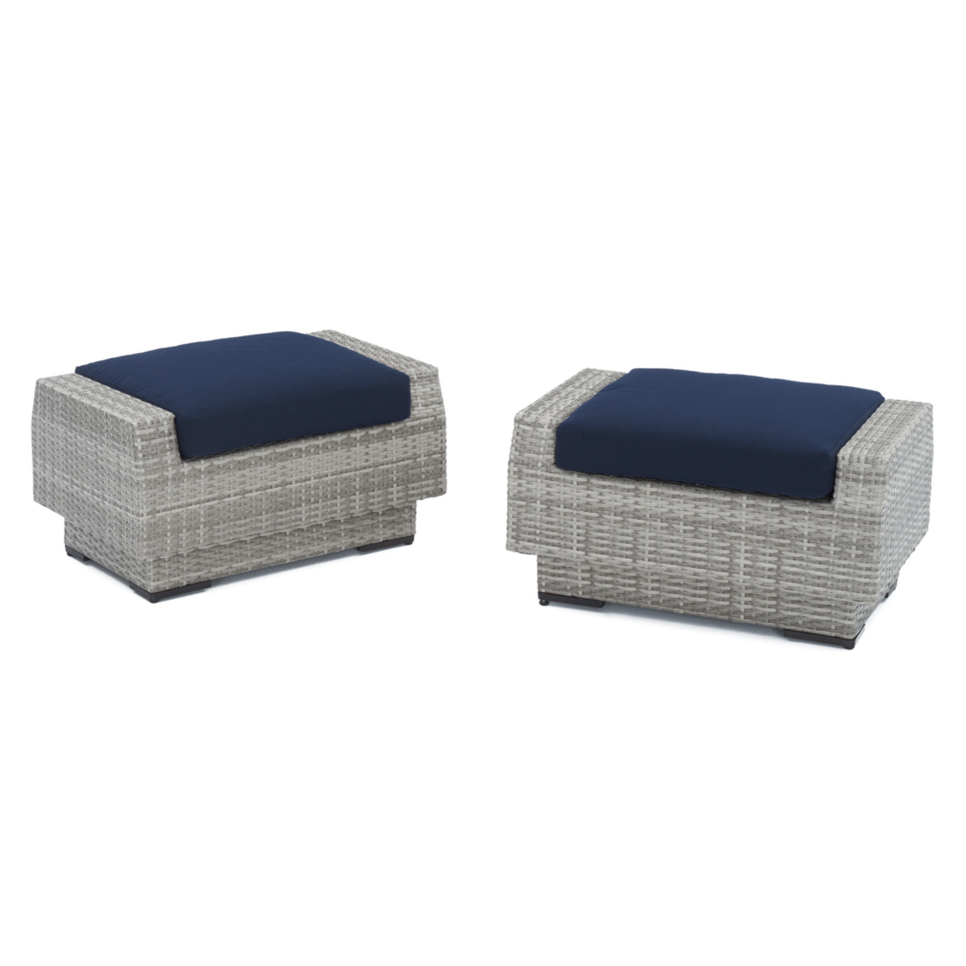 Cannes™ Club Ottomans - Navy Blue