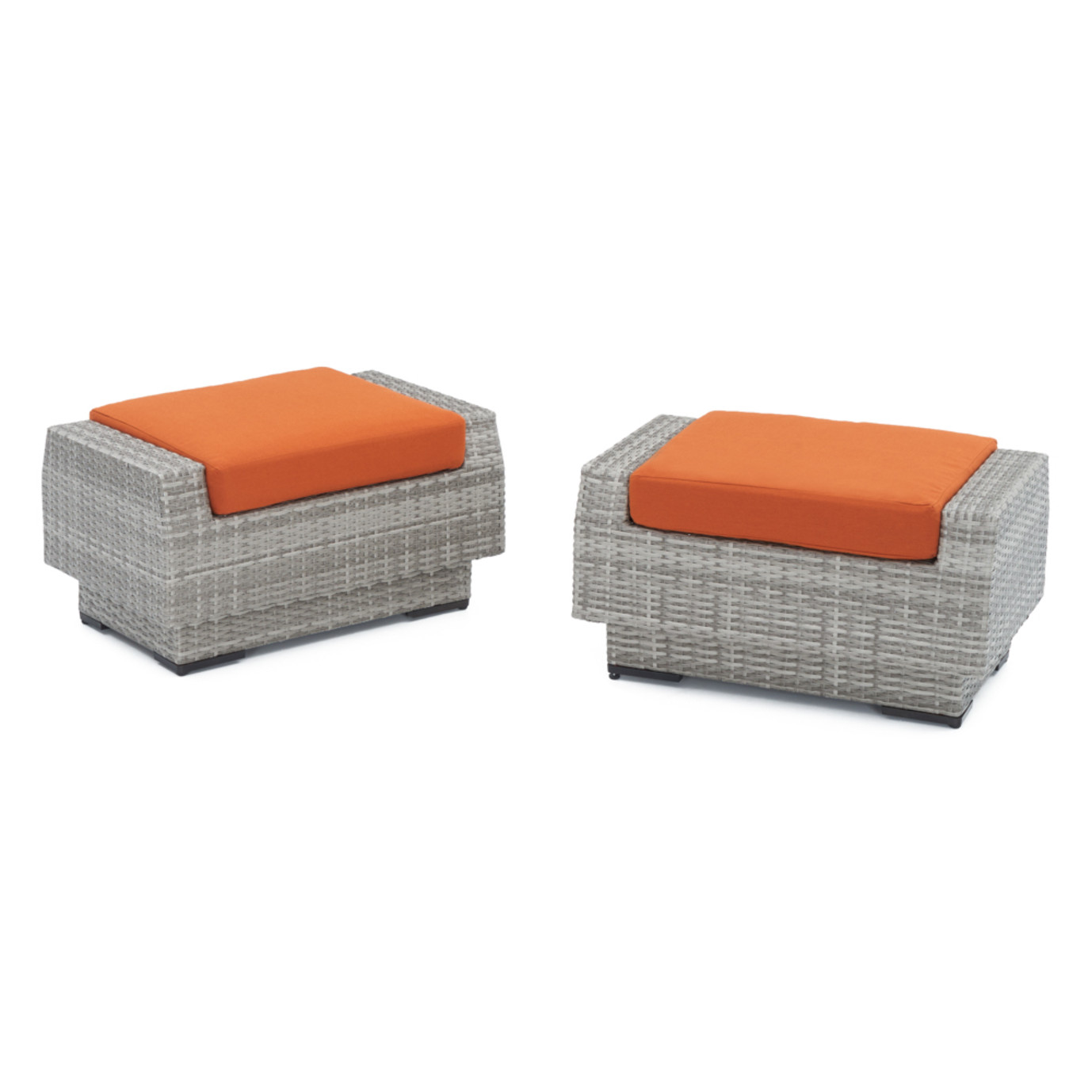 Cannes™ Club Ottomans - Tikka Orange