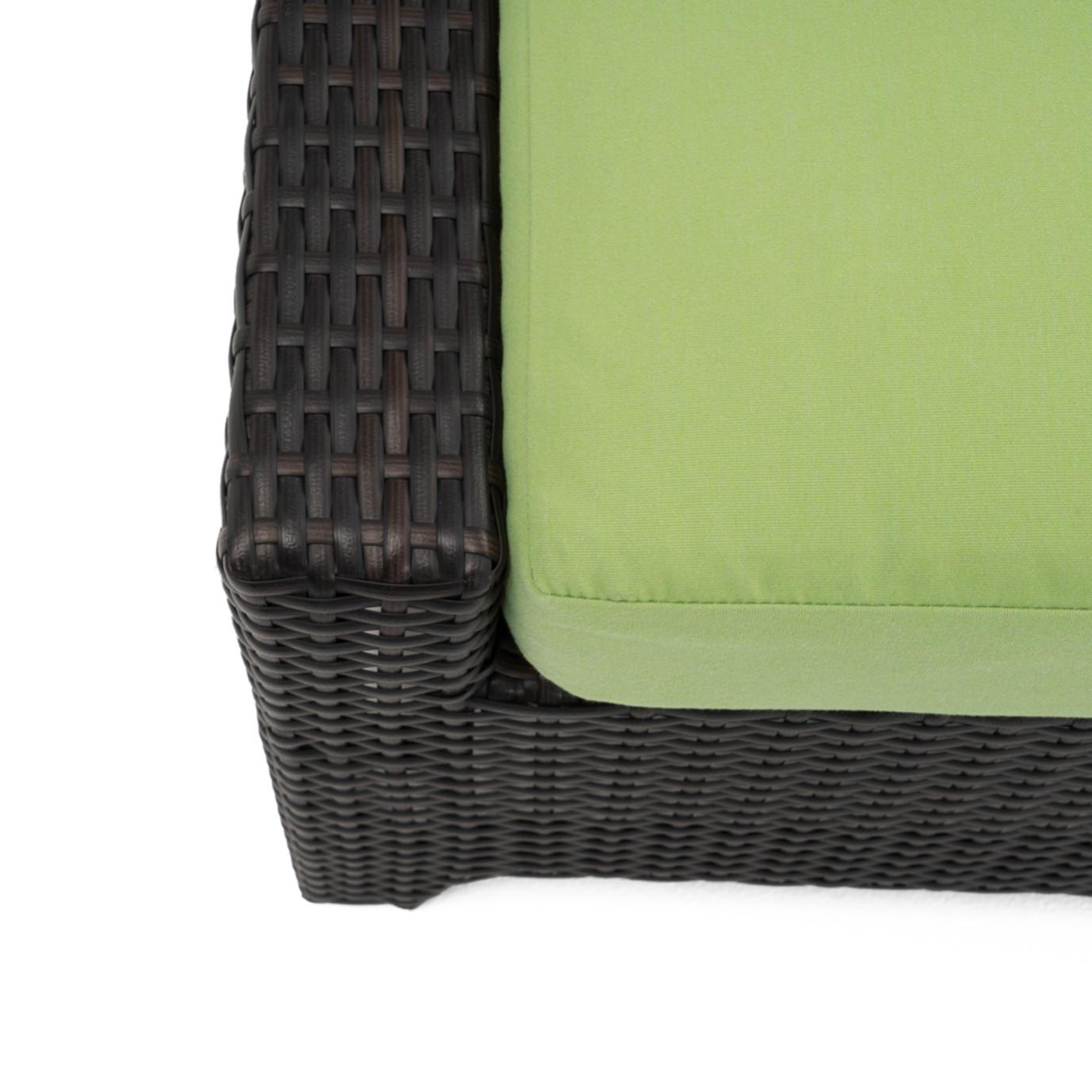 Deco™ Club Ottomans - Ginkgo Green