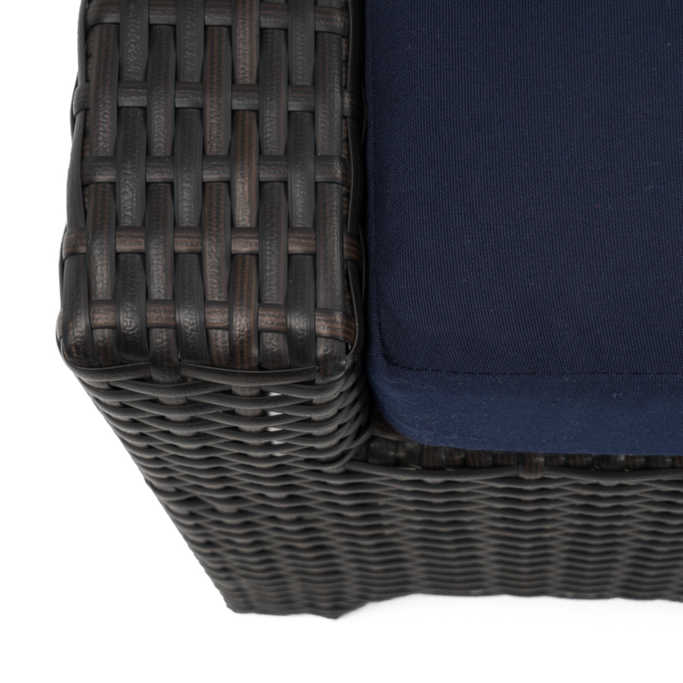 Deco™ Club Ottomans - Navy Blue