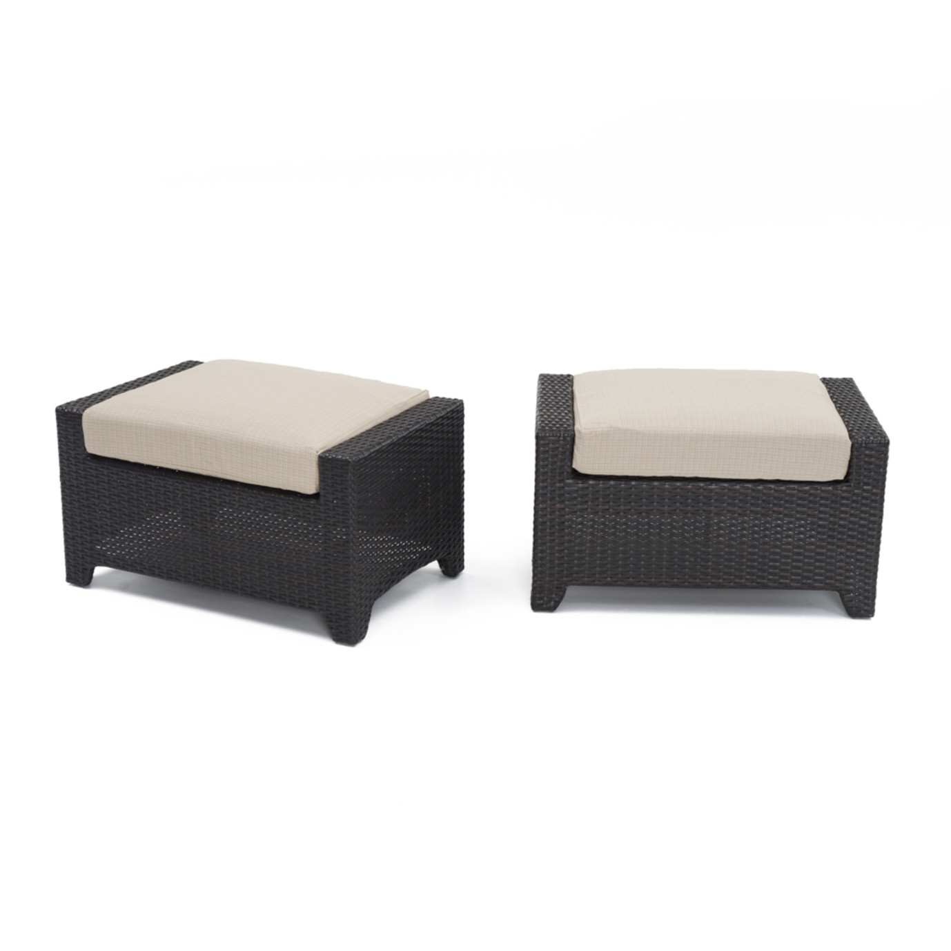 Deco™ Club Ottomans - Slate Gray