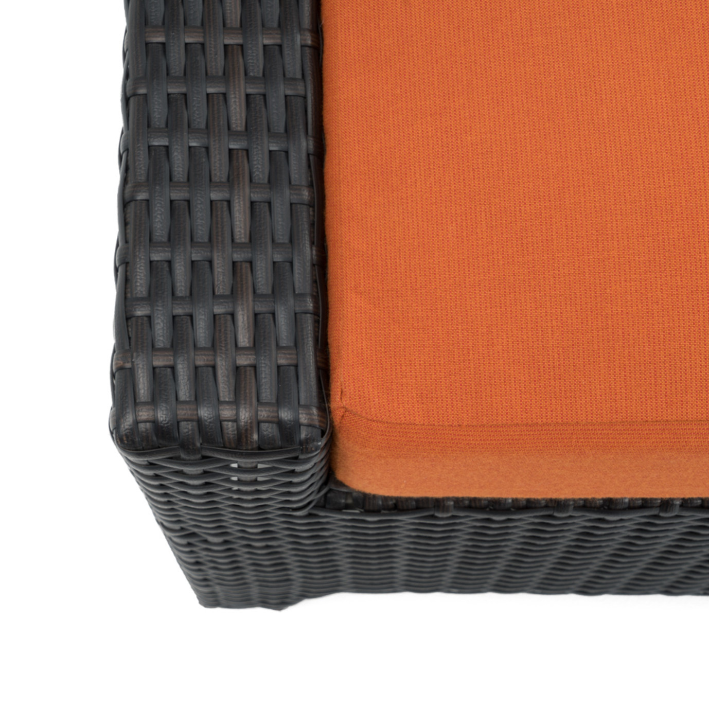 Deco™ Club Ottomans - Tikka Orange