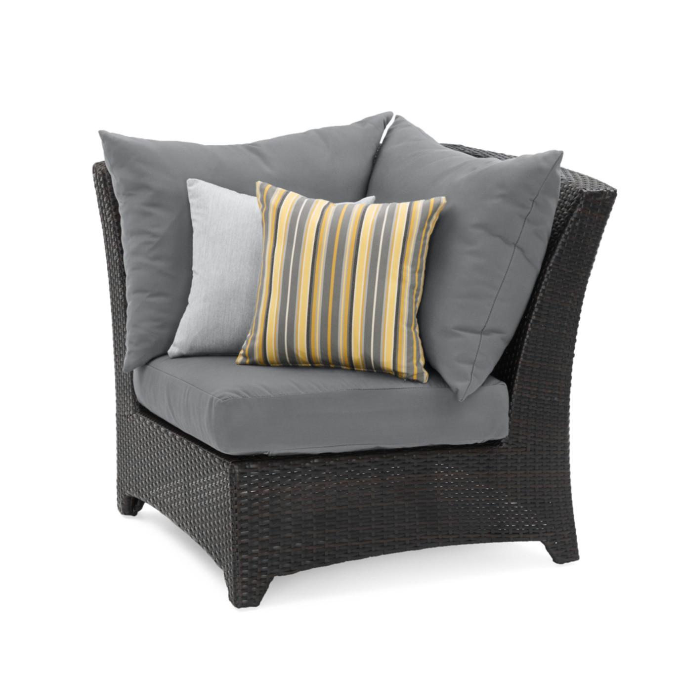 Deco™ Corner Chair - Charcoal Grey