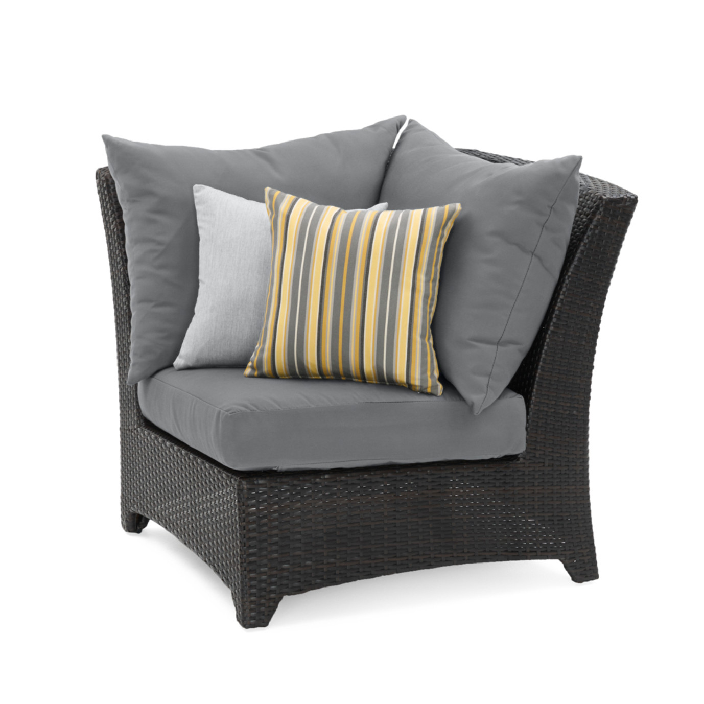 Deco™ Corner Chair - Charcoal Grey