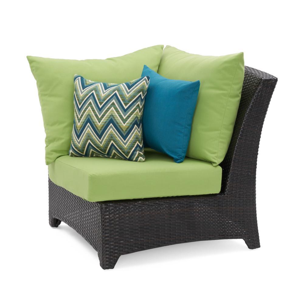 Deco Corner Chair - Ginkgo Green