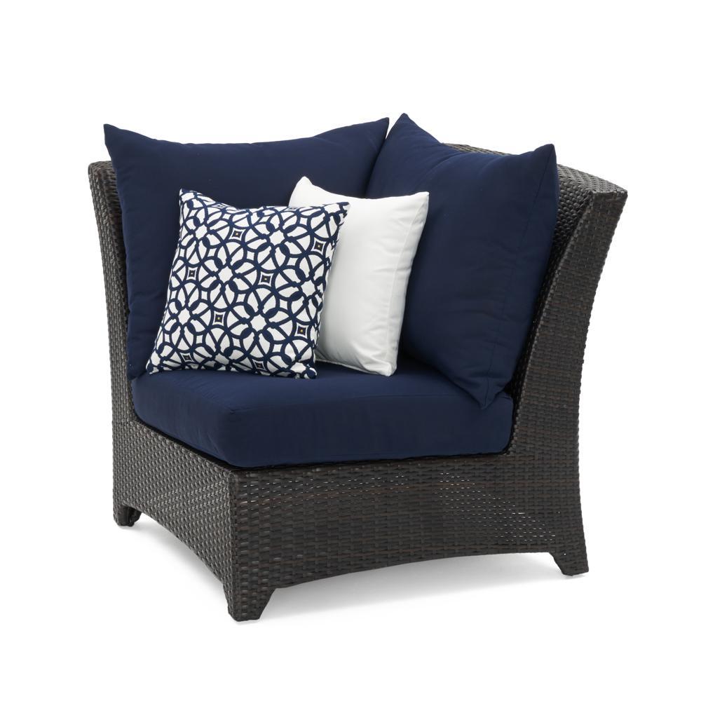 Deco Corner Chair - Navy Blue