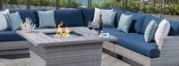 Portofino® Comfort Corner Chair - Laguna Blue