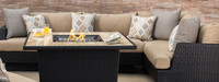 Portofino® Comfort Corner Chair - Heather Beige
