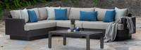 Portofino® Repose Corner Chair - Dove Gray