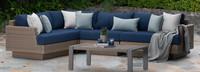 Portofino® Repose Corner Chair - Laguna Blue
