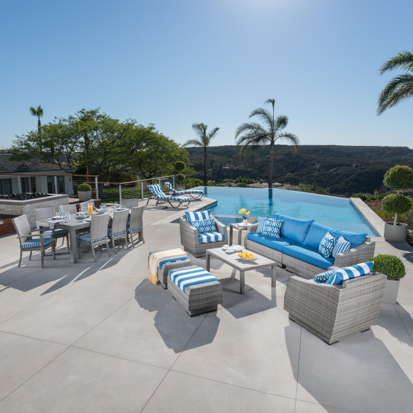 Cannes™ 19pc Estate Collection - Regatta Blue