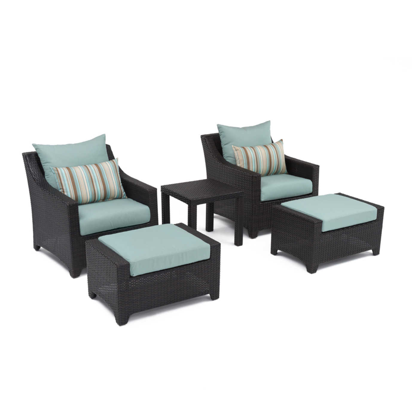 Deco™ 20pc Outdoor Estate Set - Bliss Blue