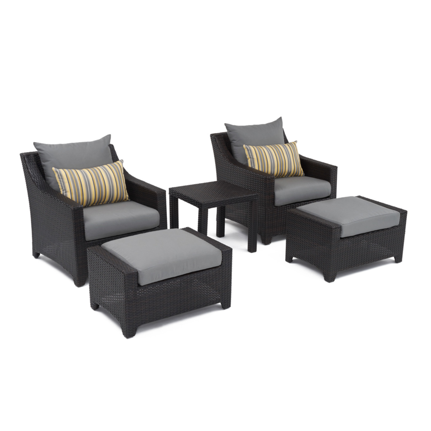 Deco™ 20pc Outdoor Estate Set - Charcoal Gray