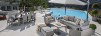 Cannes™ 20 Piece Outdoor Estate Set - Spa Blue