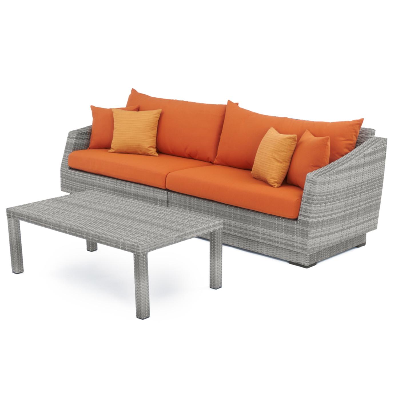Cannes™ 20 Piece Outdoor Estate Set - Tikka Orange